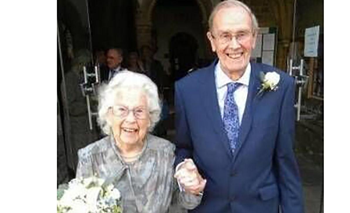 پیرترین عروس و داماد
