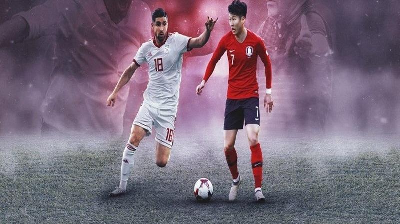بازی ایران و کره