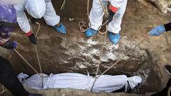 چند عکس هولناک از اجساد کرونایی در ایران