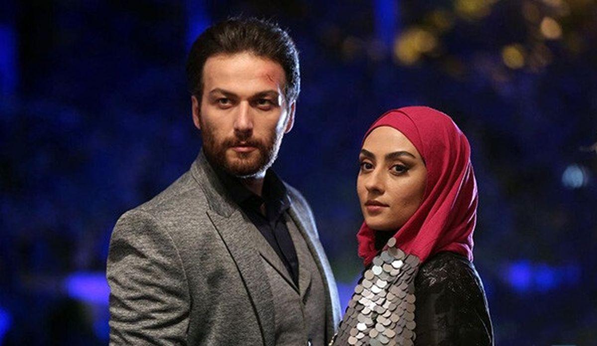 عکس دیده نشده از میلاد میرزایی و الهام طهموری در سریال شرم  + عکس دیده نشده