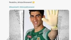 اروپایی ها تولد ستاره فوتبال ایران را تبریک گفتند