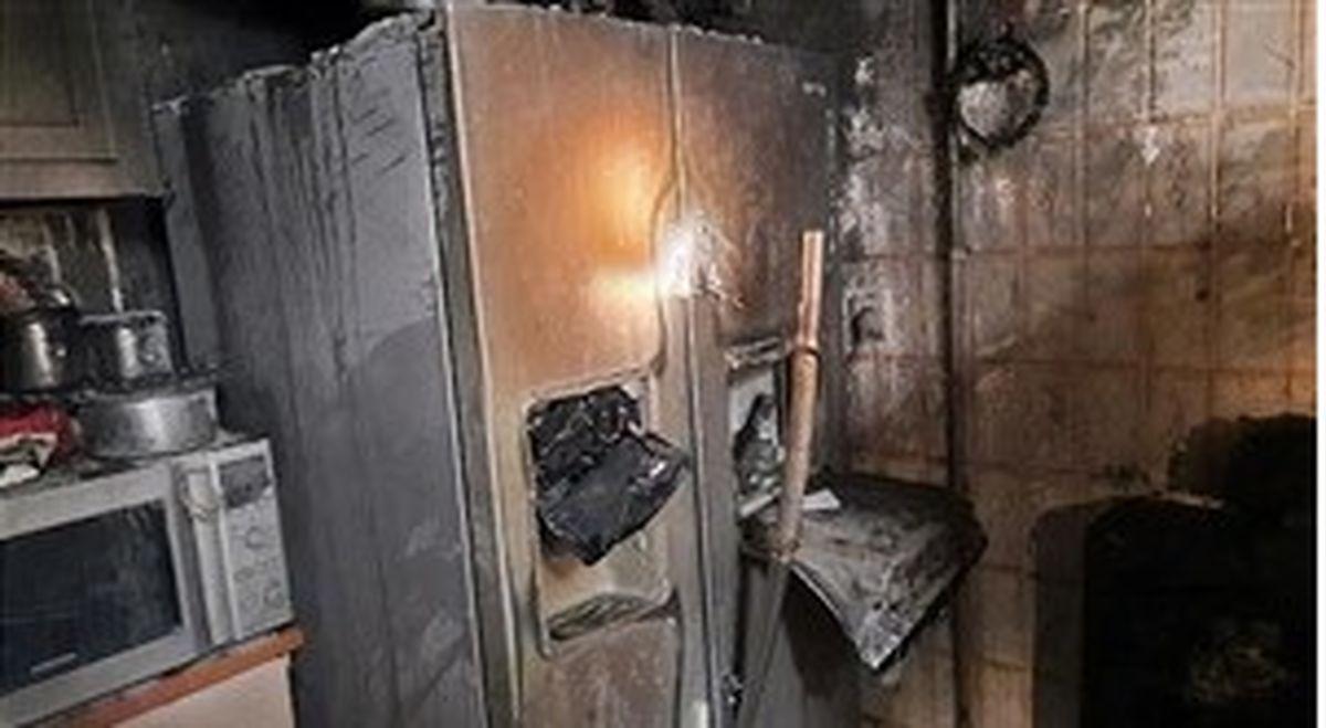 زنی که در میان آتش سوخت در منطقه شهر آرا + جزئیات مهم