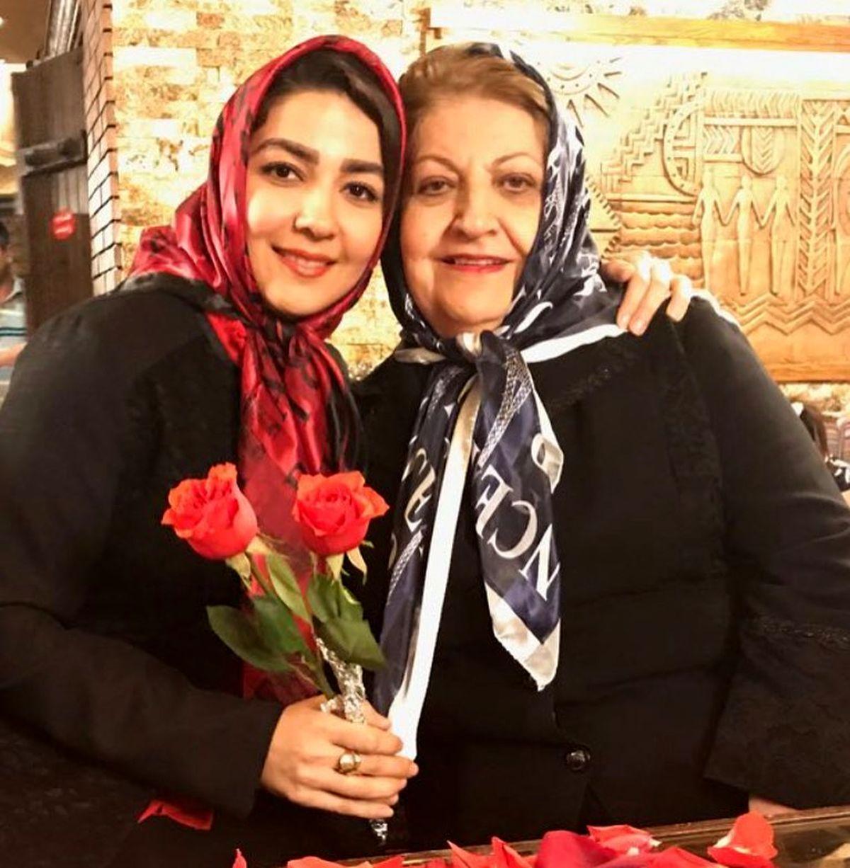 تولد لاکچری دختر سارا صوفیانی / فاصله سنی عجیب سارا با همسرش امیرحسین / تصاویر