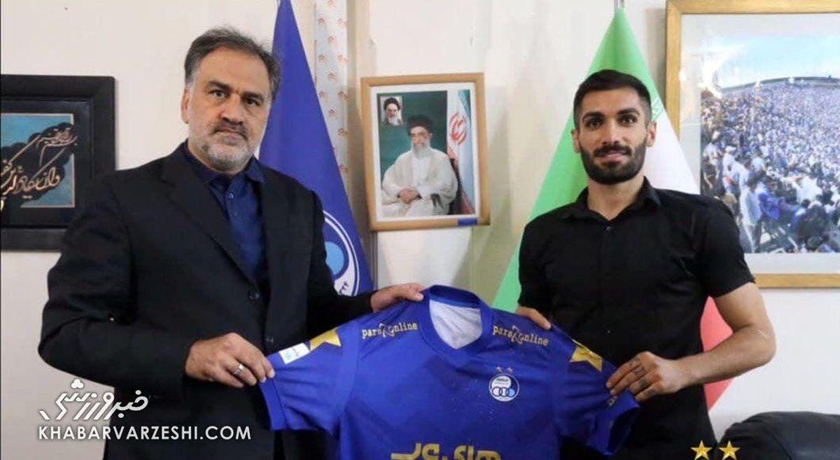 بازیکن مورد نظر یحیی گل محمدی به استقلال پیوست