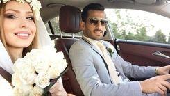 عروسی رومانتیک احسان حاج صفی در سواحل یونان/ عکس لو رفته