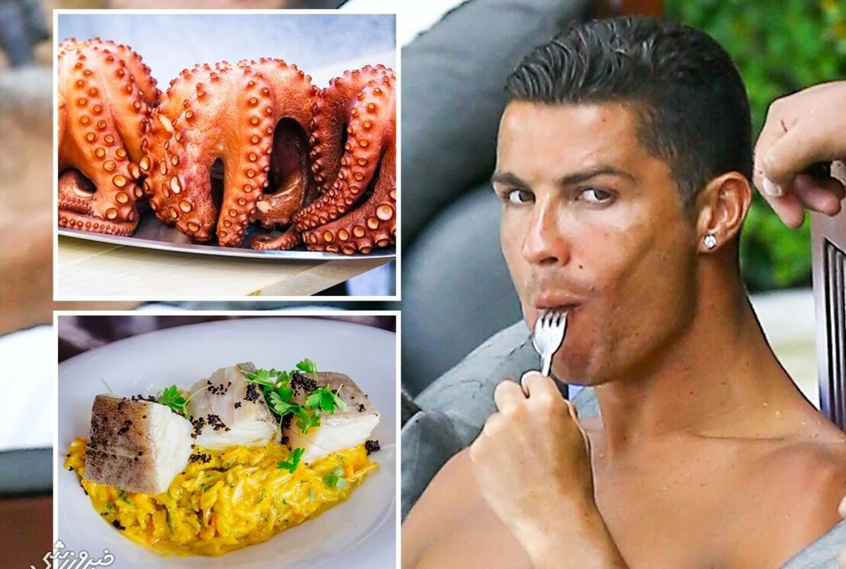 منوی غذای لاکچری و عجیب کریستیانو رونالدو به سرآشپز یونایتد