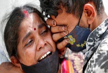 ثبت بیش از 400 هزار ابتلای روزانه به ویروس کرونای هندی در هند