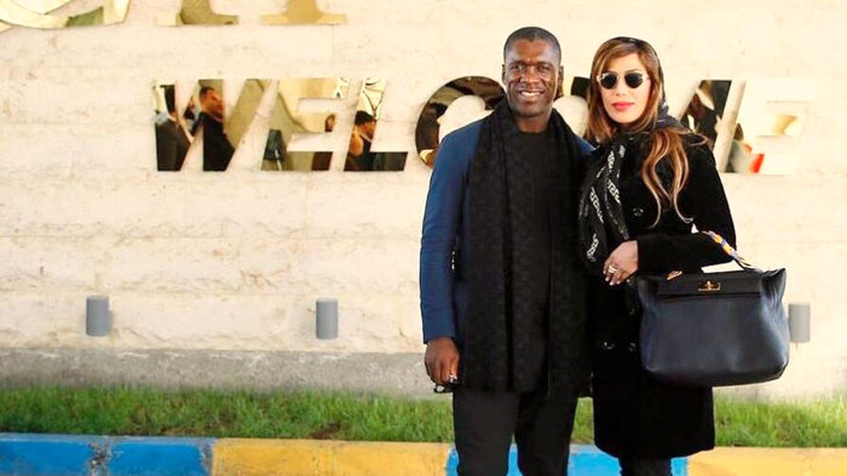 سپیده کرامتی با کلارنس سیدورف اسطوره ستاره فوتبال ازدواج کرد