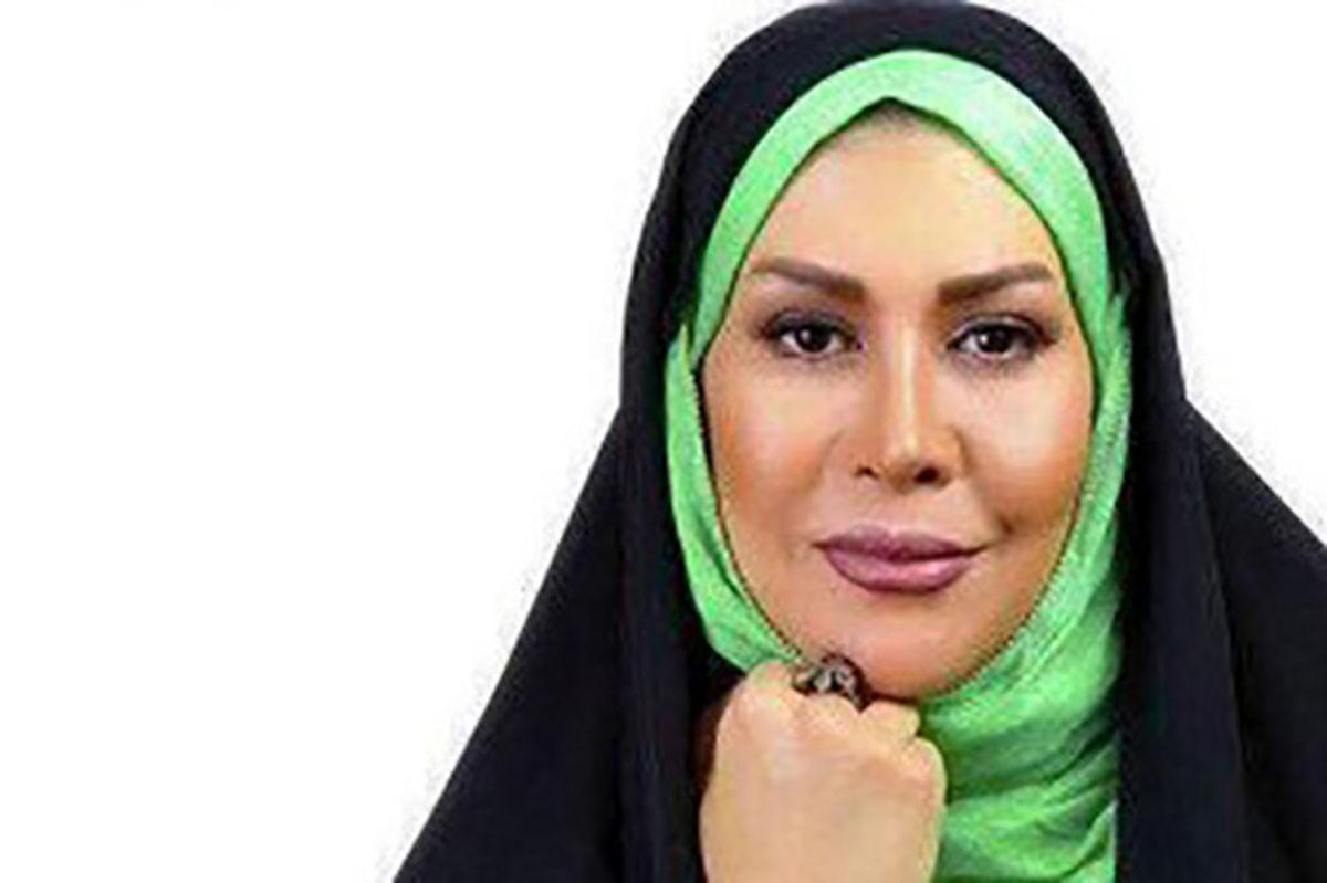 تغییر چهره یهویی خانم مجری / الهام صفوی از همسرش طلاق گرفت !