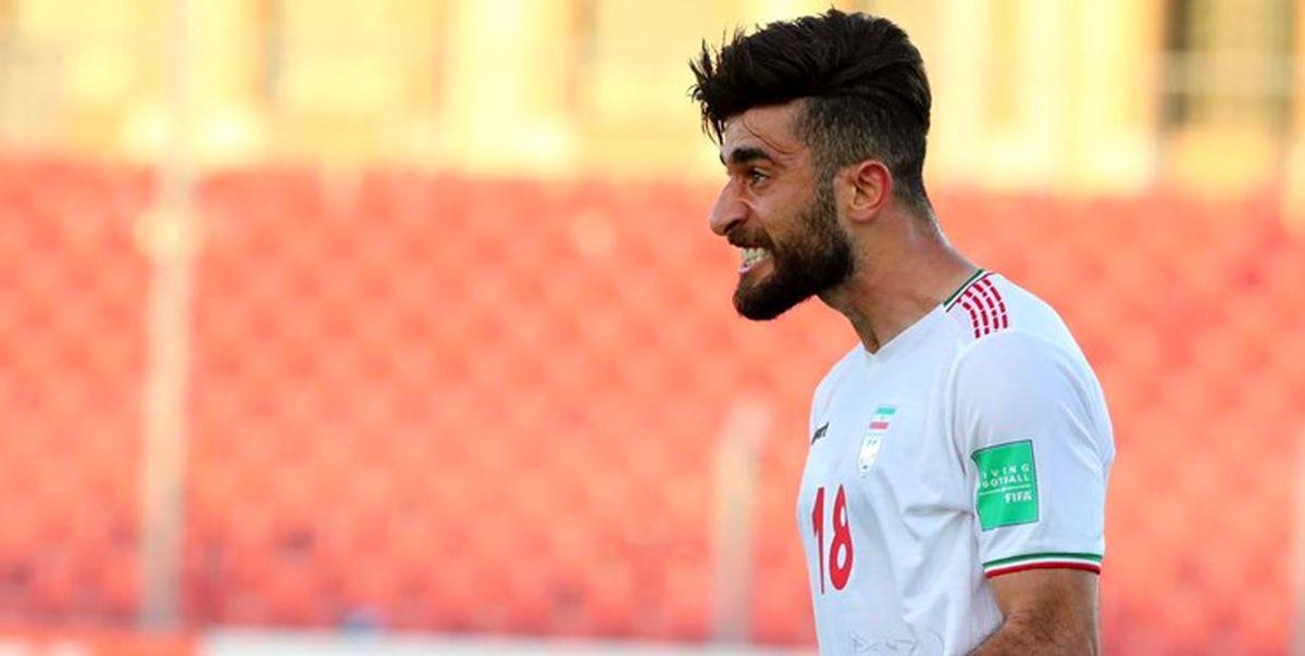 تمجید باشکوه از علی قلی زاده بعد از برد ایران در مقابل عراق !