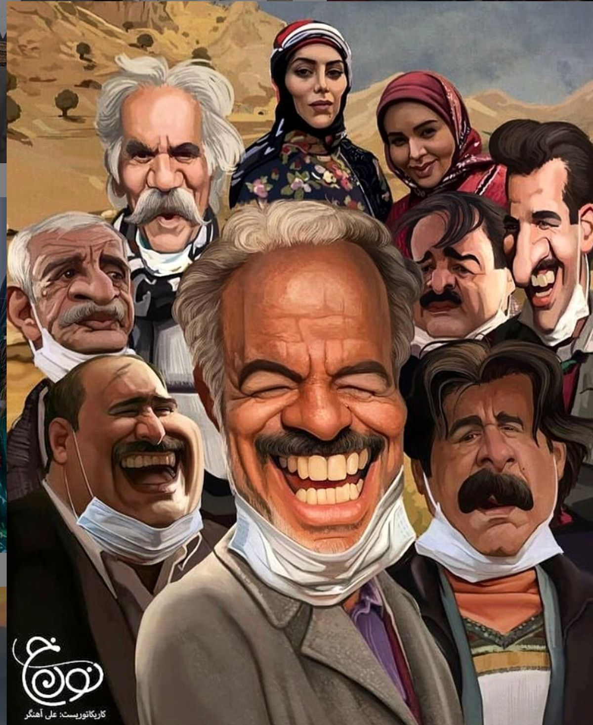 سعید آقاخانی: طرح اولیه سریال نون خ در تهران
