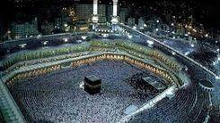 اقامه نماز در اولین روز از ماه مبارک رمضان در خانه خدا + عکس