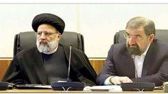 رکورد عجیب رئیسی و محسن رضایی در فضای مجازی