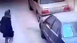 کلیپی که از سرقت دختر جوان منتشر شده  + ویدئو