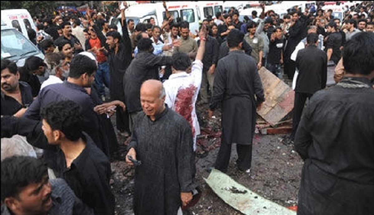 فوری  انفجار تروریستی علیه عزداران شیعه
