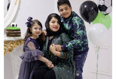عکس های جدید همسر و فرزندان هادی نوروزی