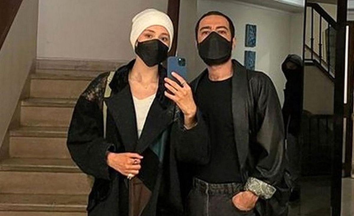 تبریک عجیب نوید محمدزاده به تولد هانیه توسلی + عکس