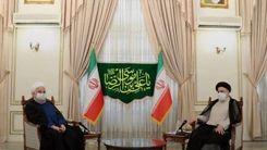 اولین عکس از دو رئیس جمهور ایران در یک قاب