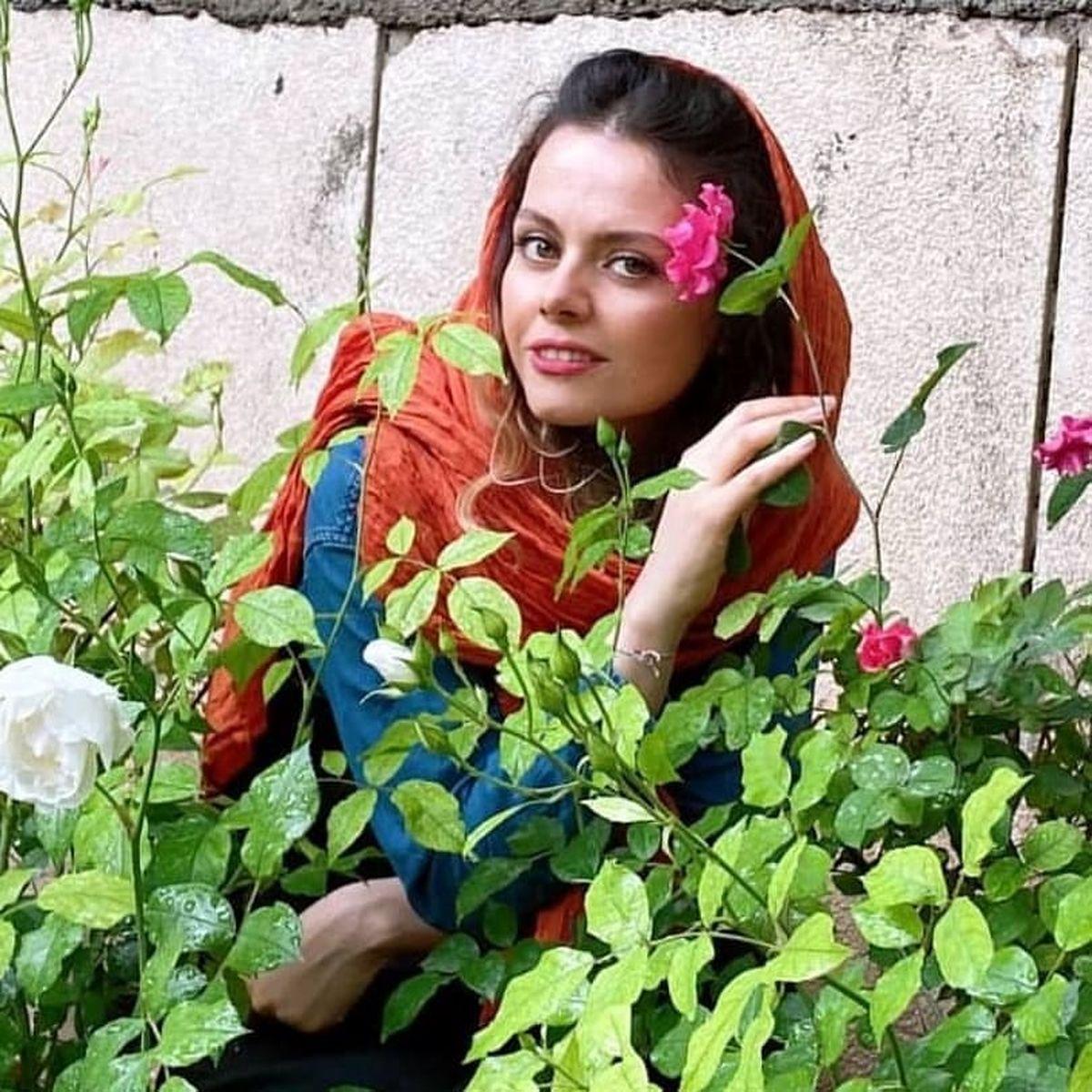 تصاویر جدید از غزال نظر بازیگر سریال احضار