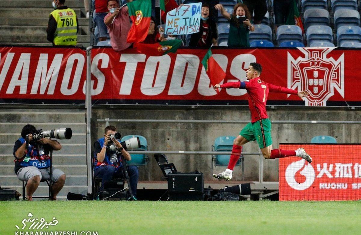 رونالدو دوباره رکورد زد  رکورد جدید کریستیانو رونالدو