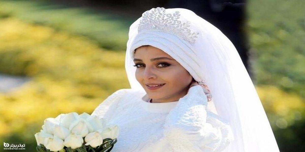 ساره بیات عروس شد / عکس جنجالی آقا داماد میلیاردر + جزئیات