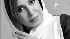 بی تابی های نسیم ادبی برای همسرش + عکس