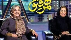 فاطمه معتمد آریا در همرفیق شهاب حسینی + کلیپ جنجالی