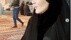 حجاب عجیب زهره فکور صبور  + عکس