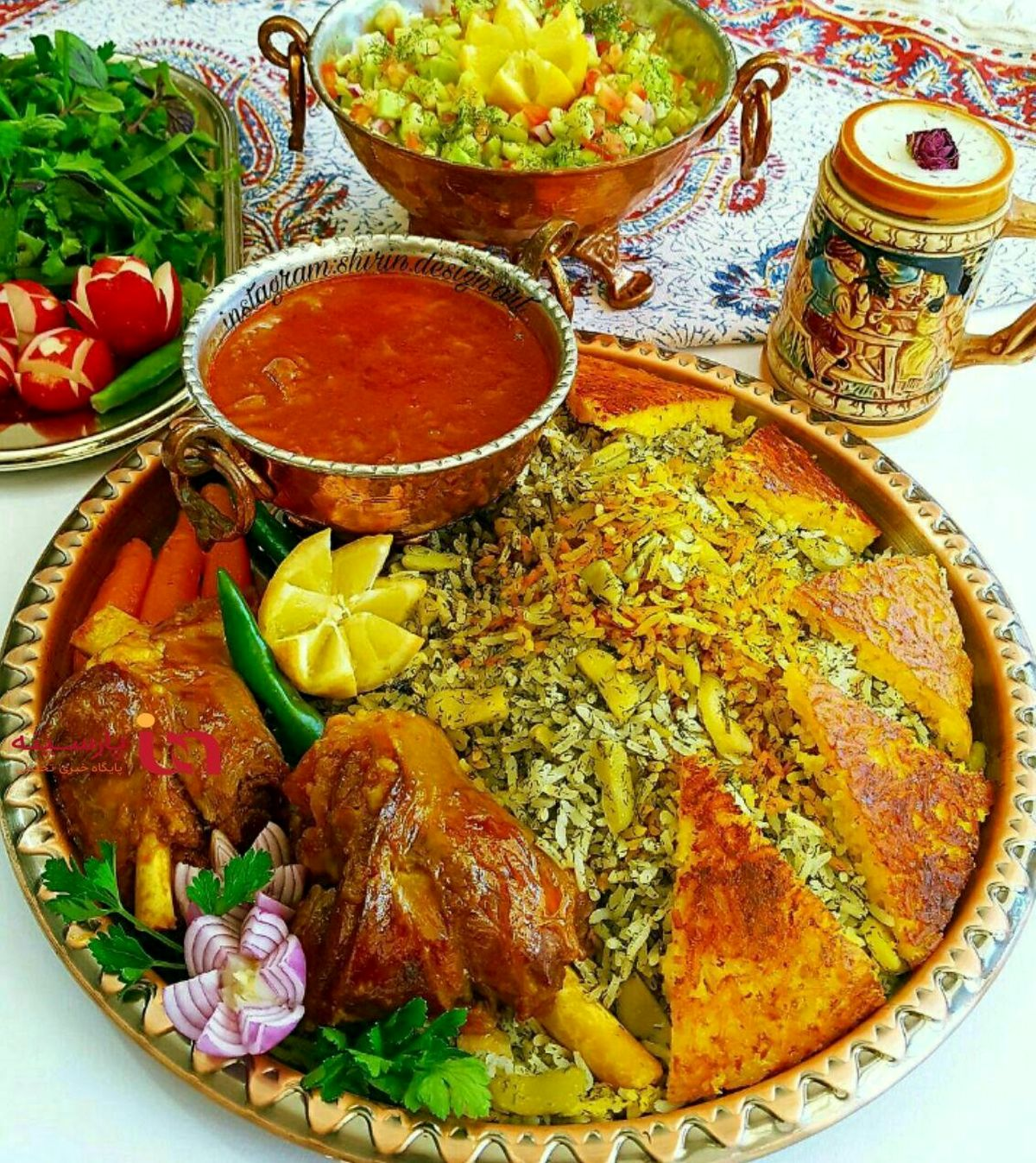 طرز تهیه باقالی پلو به سبک ایرانی اصیل