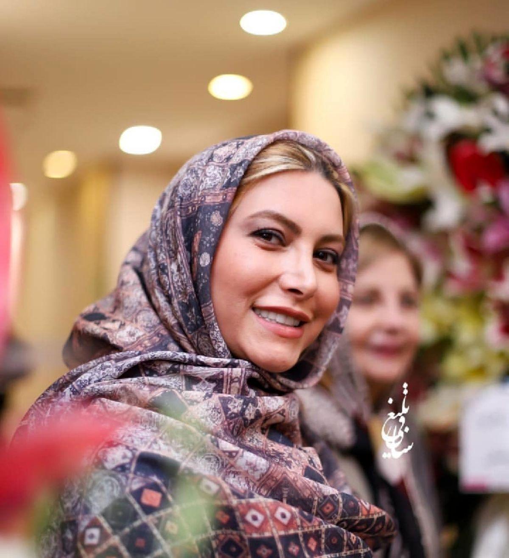 عکس جدید فریبا نادری در آسانسور