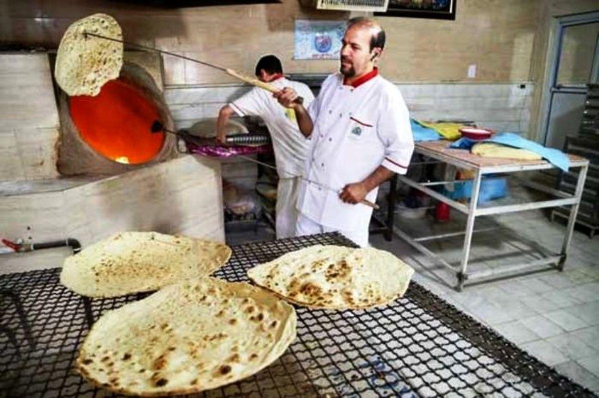 افزایش قیمت نان در سال ۱۴۰۰