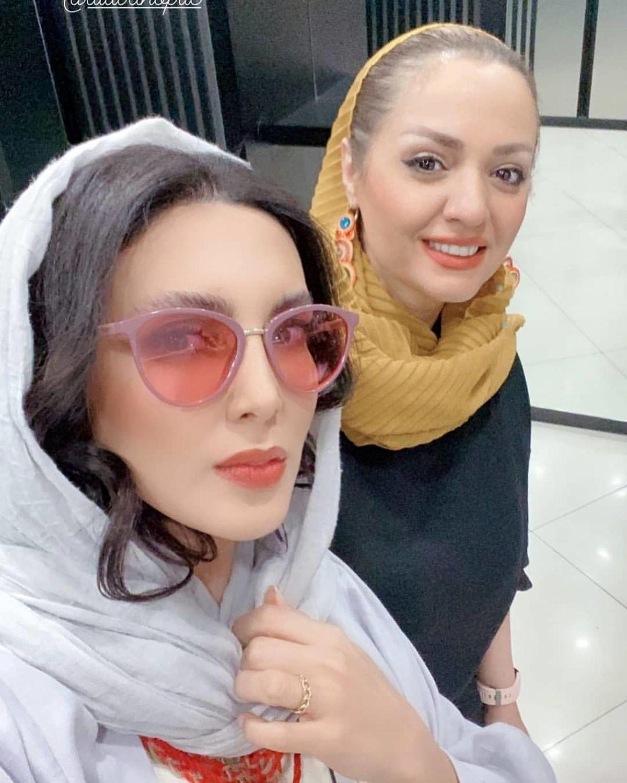 حضور جنجالی لیلا بلوکات و مرحوم علی انصاریان در کنسرت امید حاجیلی