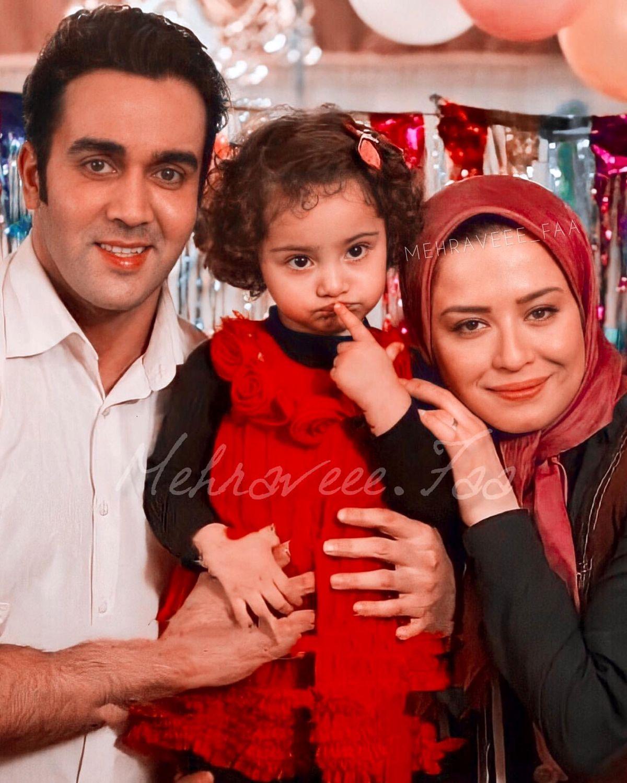 عکس جنجالی مهراوه شریفی نیا و پوریا پورسرخ در پشت صحنه فیلم مدیترانه