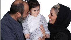 تولد خاص همسر مهران غفوریان