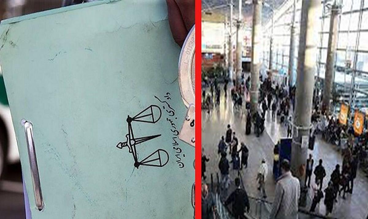 ماجرای درگیری زن جوان در فرودگاه امام خمینی چیست ؟