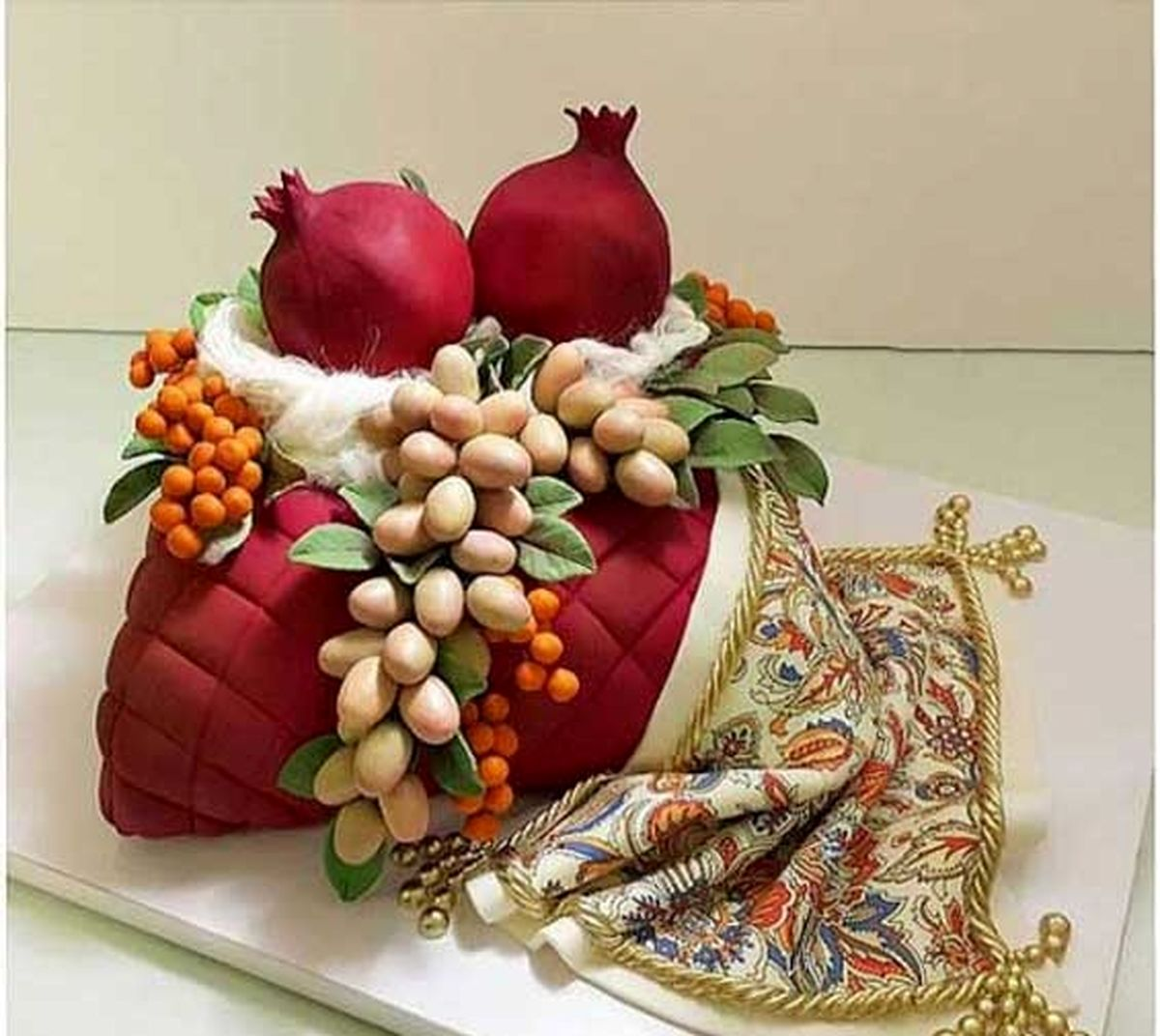 تزئینات شب یلدایی برای عروس ایرانی + جزئیات