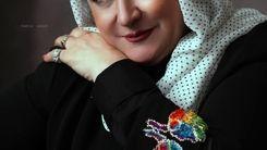 عکس زیرخاکی از مریم امیرجلالی در کنار حمیده خیرآبادی