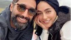 سمانه پاکدل در کنار همسر+ عکس جذاب