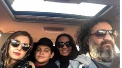 عکس  لاکچری شقایق دهقان به همراه همسر و فرزندش نویان  + جزئیات