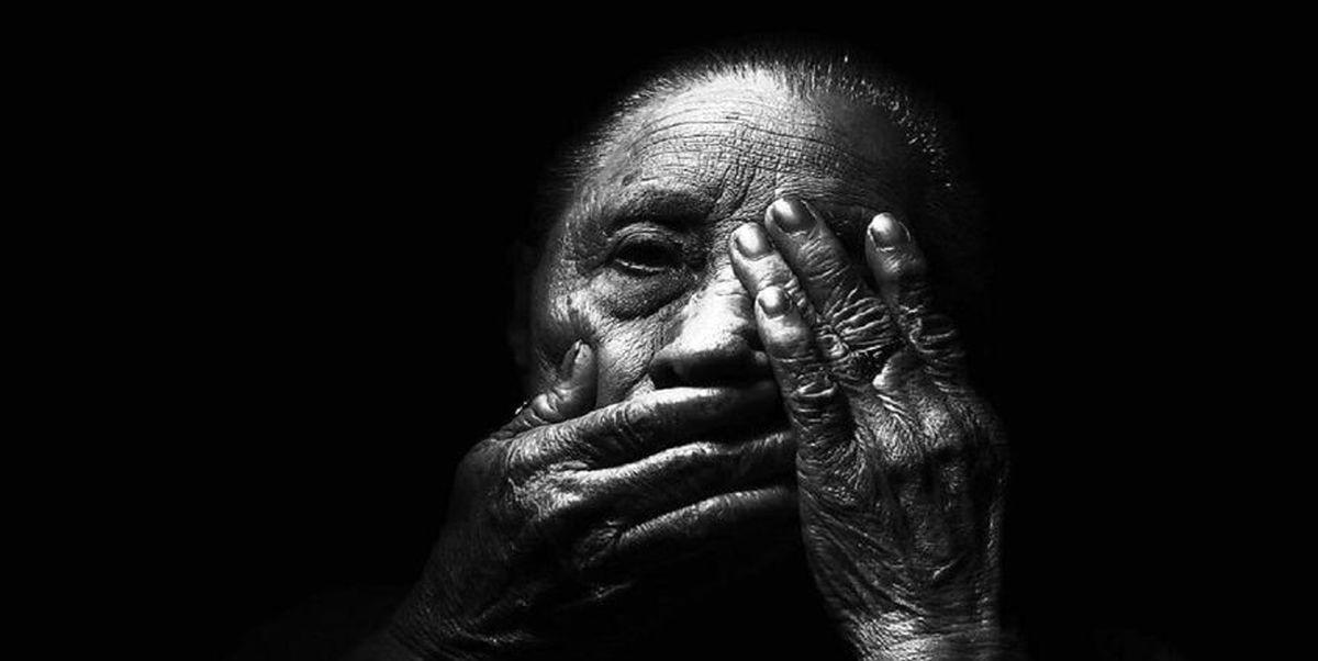 پیر زن مرده بعد از سال ها زنده شد!+ عکس