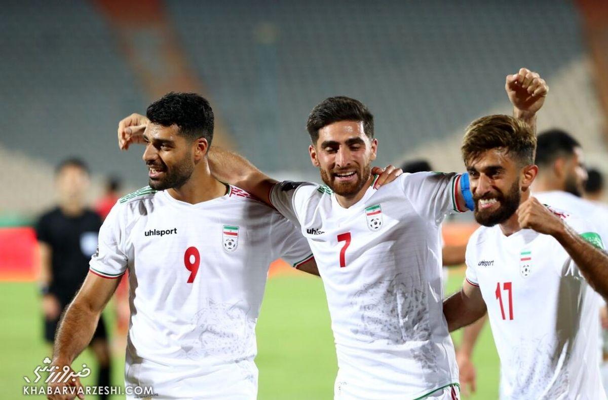 تیم ملی ایرانی دوباره اول آسیا شد  رده بندی جدید فیفا اعلام شد