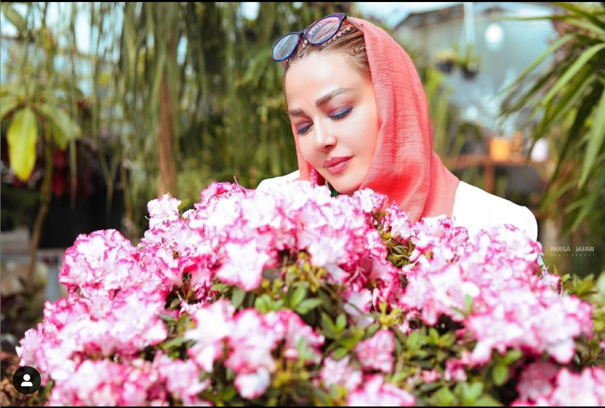 سفره افطار بهاره رهنما و همسرش + عکس